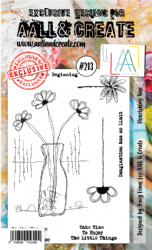 AALL and Create Clear A6 Stamp Set #213